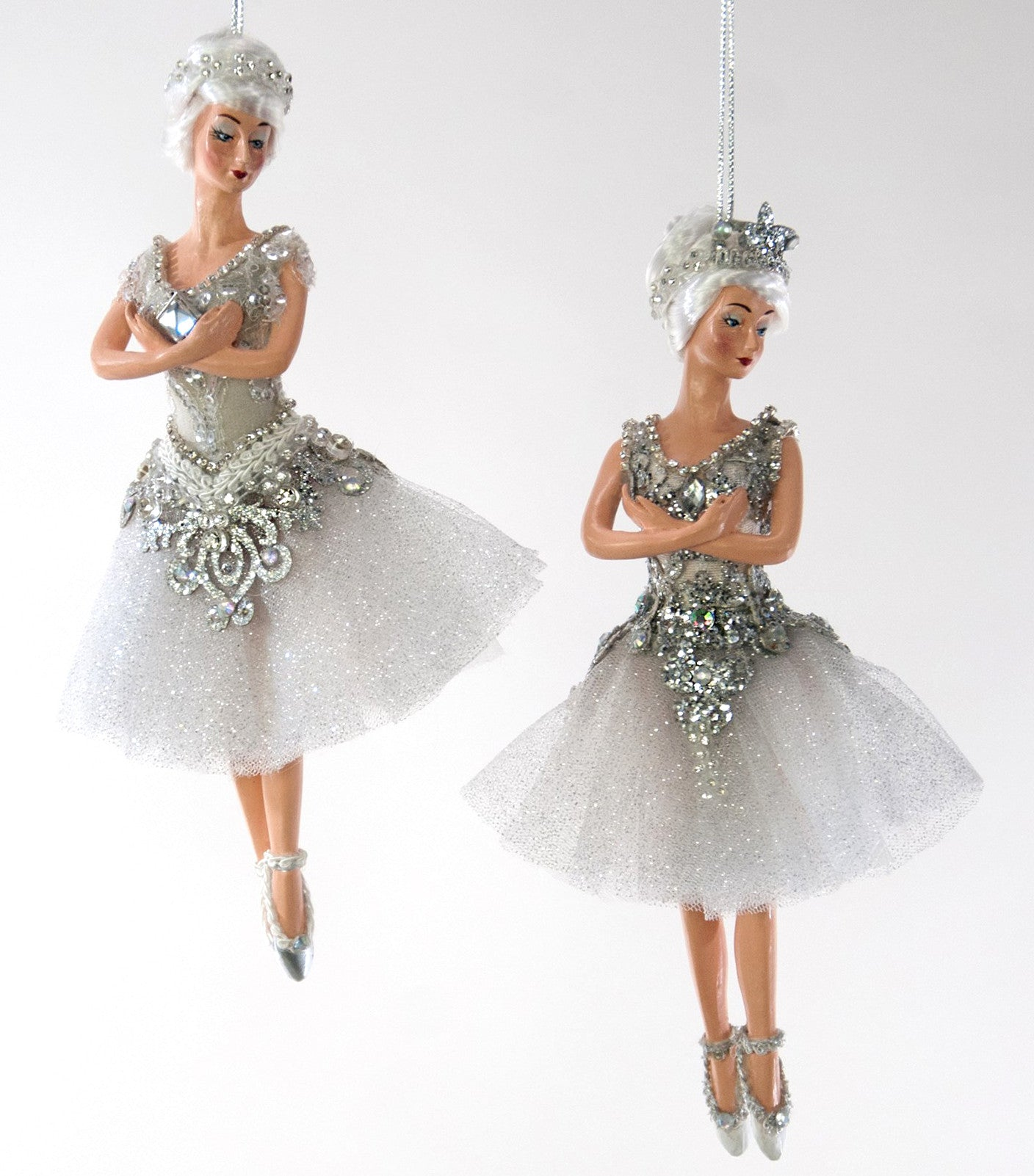 Katherine's Collection Winter Ballerina Ornaments