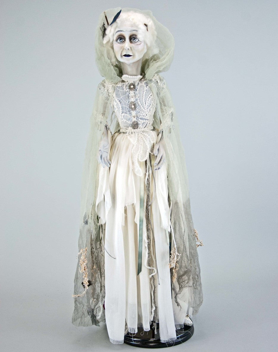 "Lady in Mourning 34"" Ghost Bride Doll by Katherine's Collection"