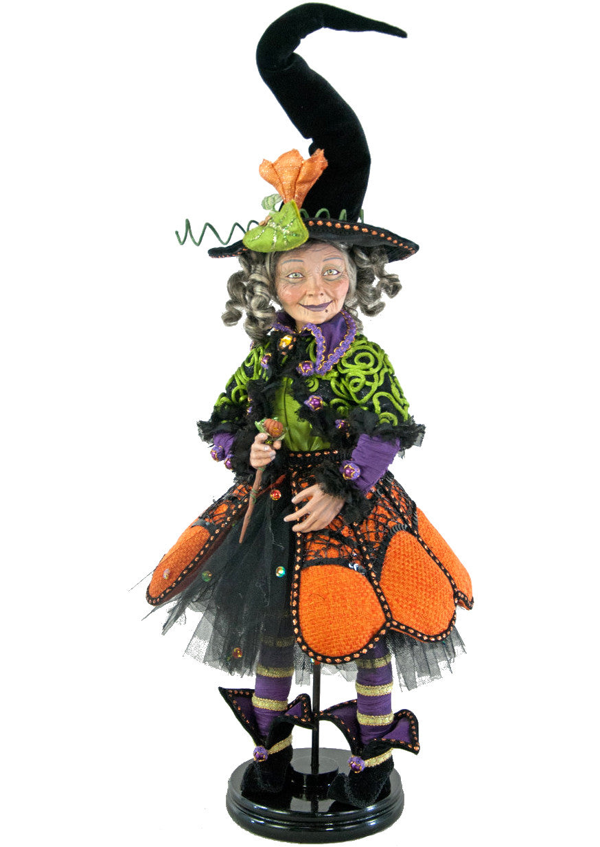 Katherines's Pumpkin Patch Witch Halloween Doll