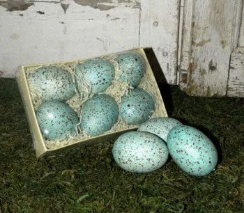 Blue Speckled Eggs