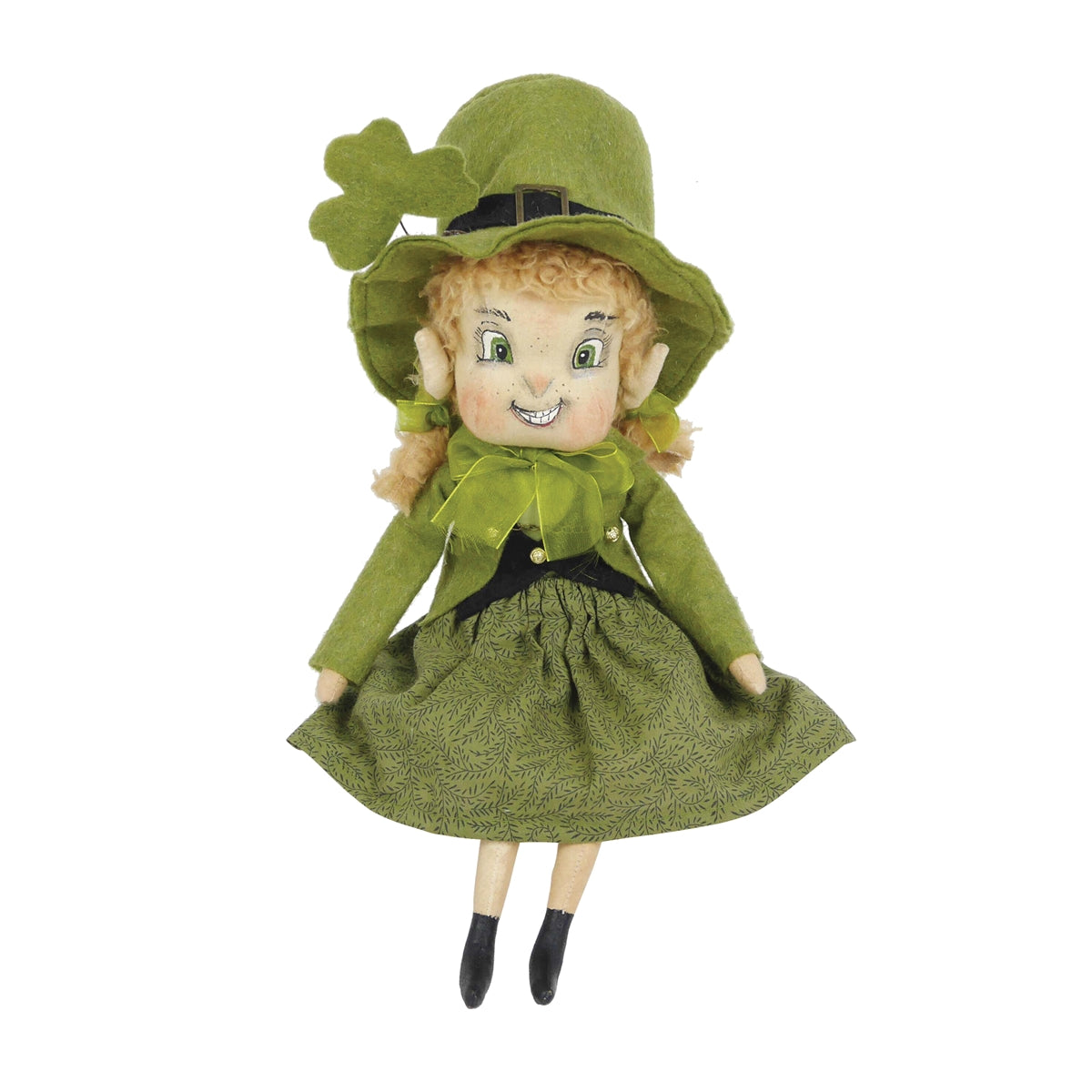 Kerry Leprechaun Girl Doll by Joe Spencer