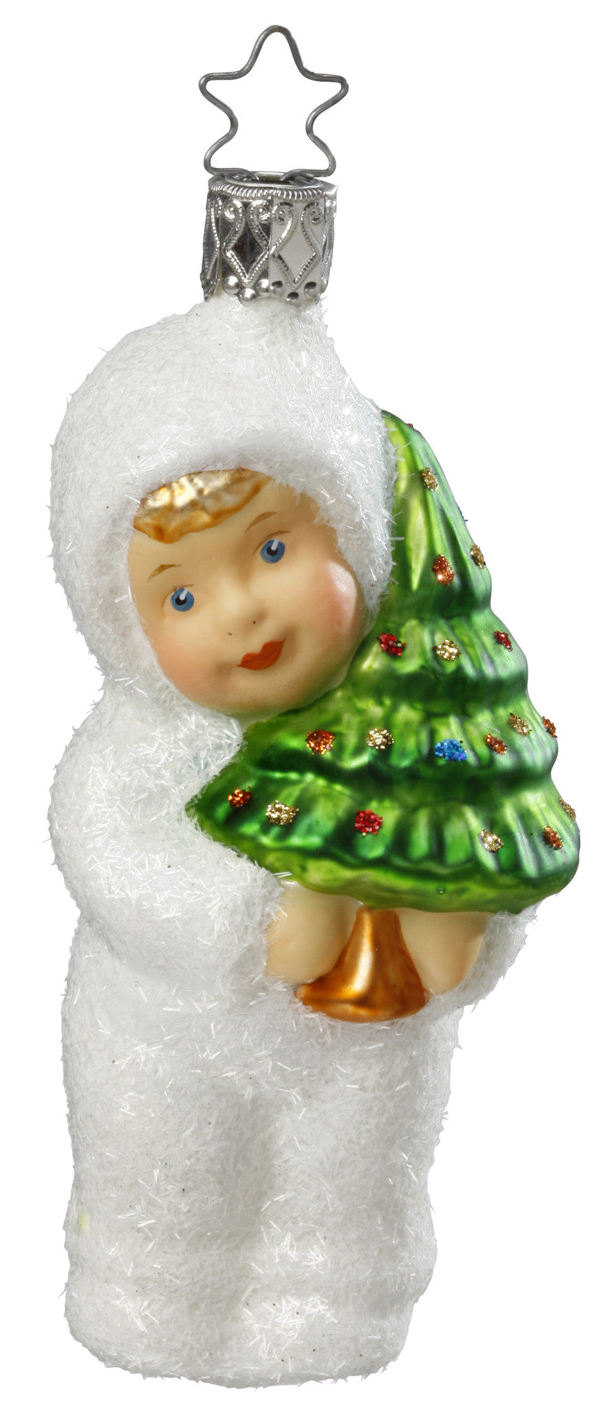 Kinder of Tradition - Child with Christmas Tree Ornament