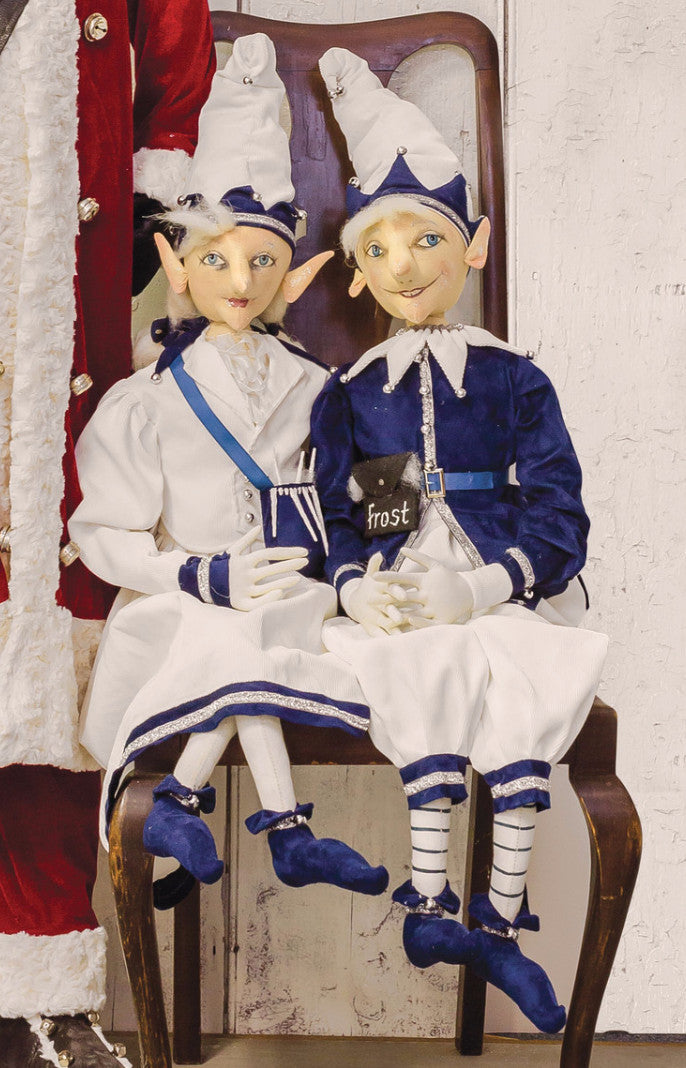 Julie & Jack Frost Elf Dolls by Joe Spencer