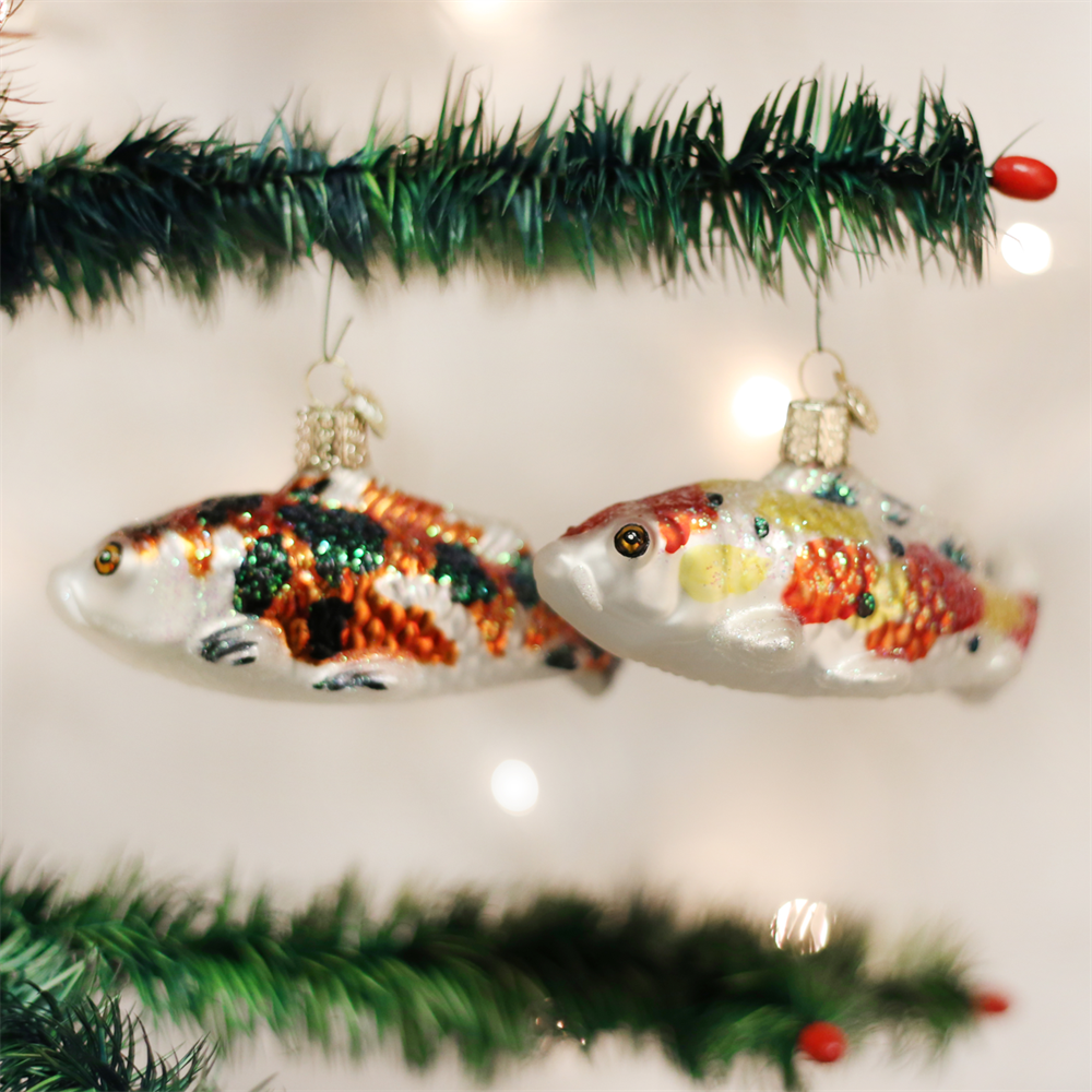 Koi Fish Ornaments