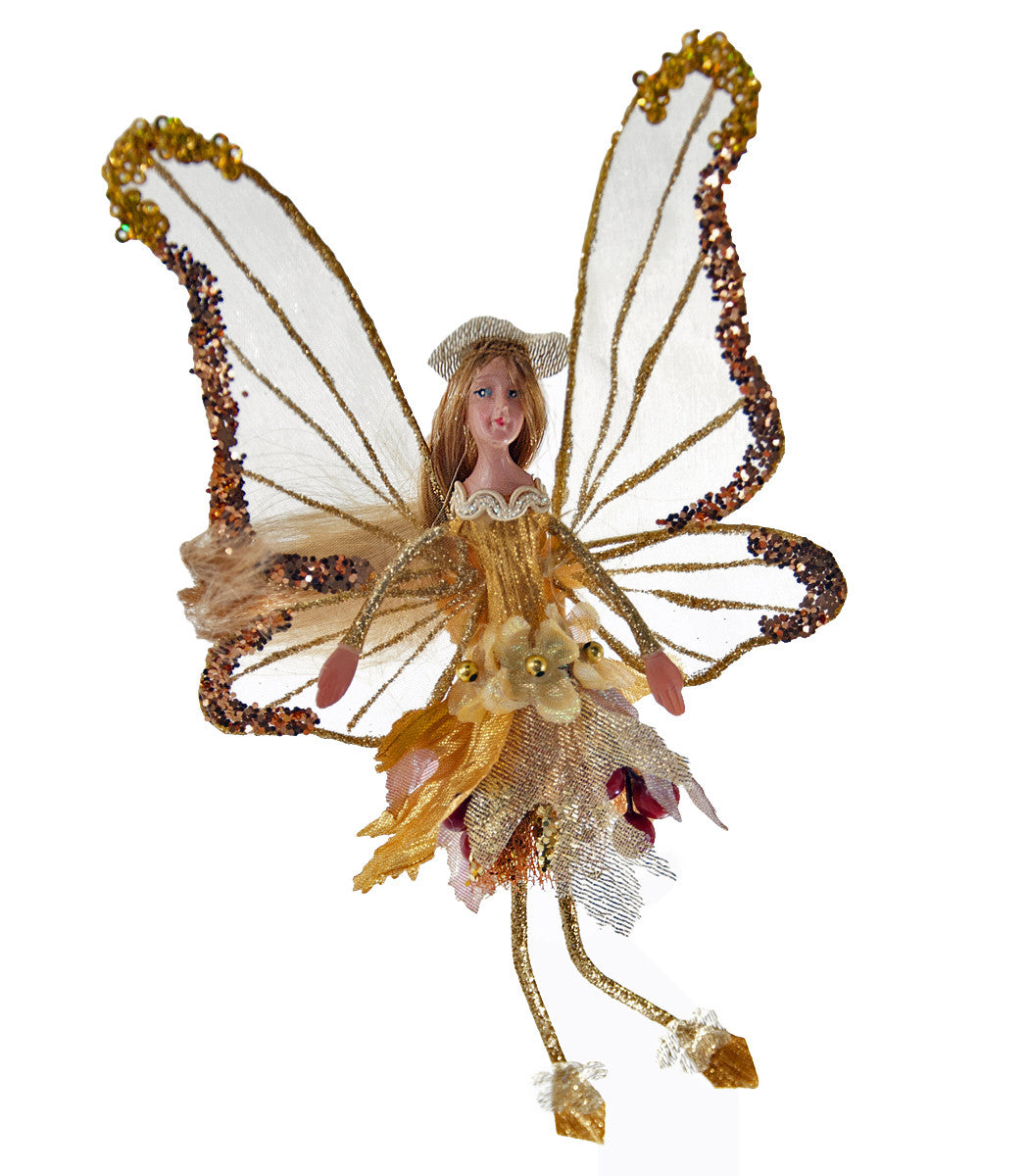 Leaf Wing Fairy - Gold