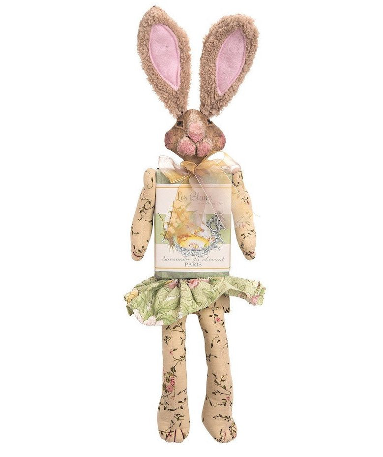 Lilly French Soap Bunny Rabbit - Easter Doll