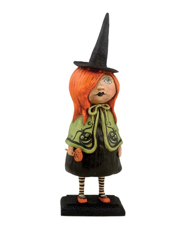 Little Goth Girl Witch by Debra Schoch