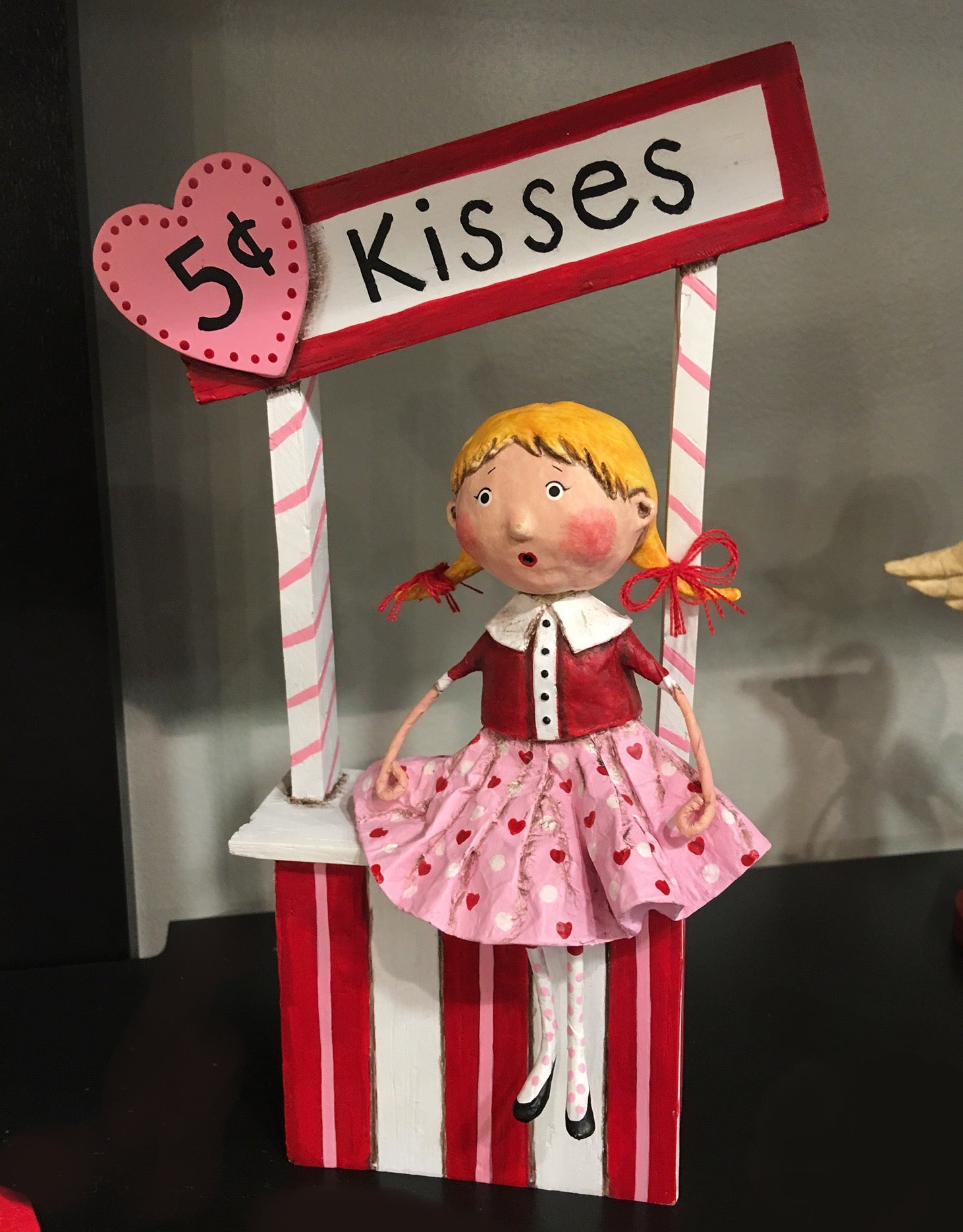 Lori Mitchell 5 Cent Kisses Valentine' Day Figurines