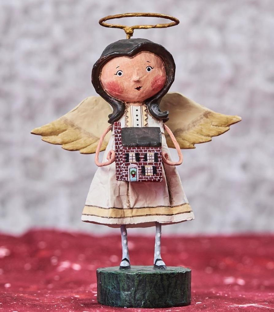 Lori Mitchell Angel of the Home Figurine