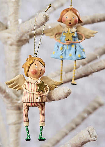 Lori Mitchell Babes in Toyland, Christmas Angel Ornaments