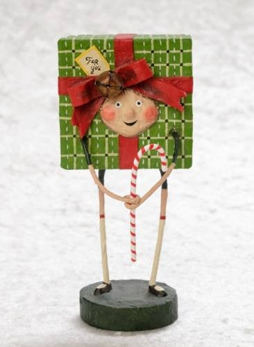 Lori Mitchell Especially For You Christmas Present Figurine