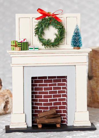 Lori Mitchell Hearth - Fireplace Prop for Figurines