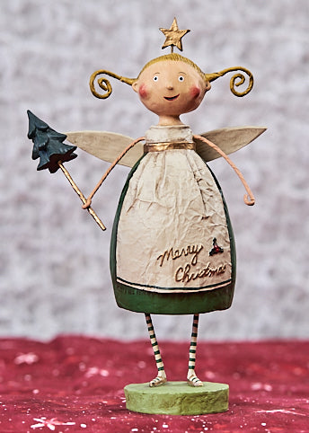 Lori Mitchell Evergreen Angel Figurine