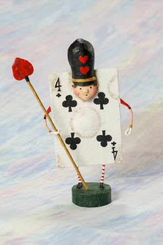 Lori Mitchell Four of Clubs Figurine
