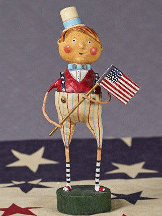 Lori Mitchell Franklin Freedom 4th of July Figurine