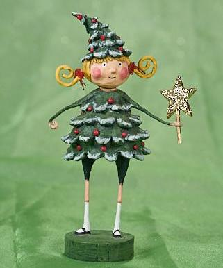 Lori Mitchell Jolly Holly Figurine