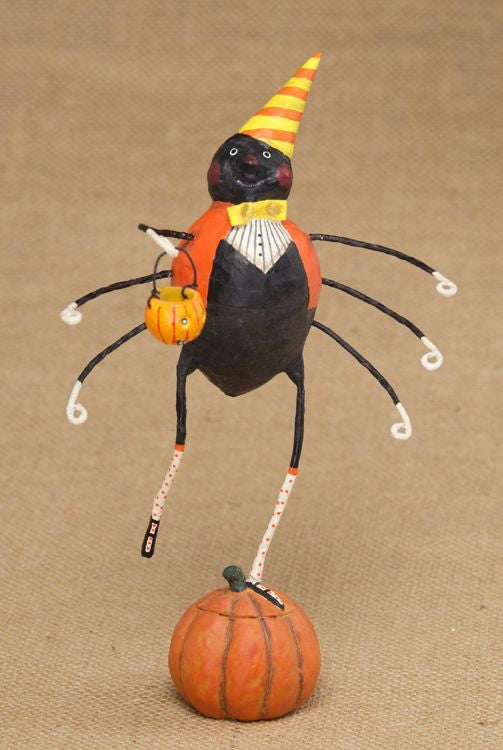 Lori Mitchell Lenny Long Legs Spider Figurine