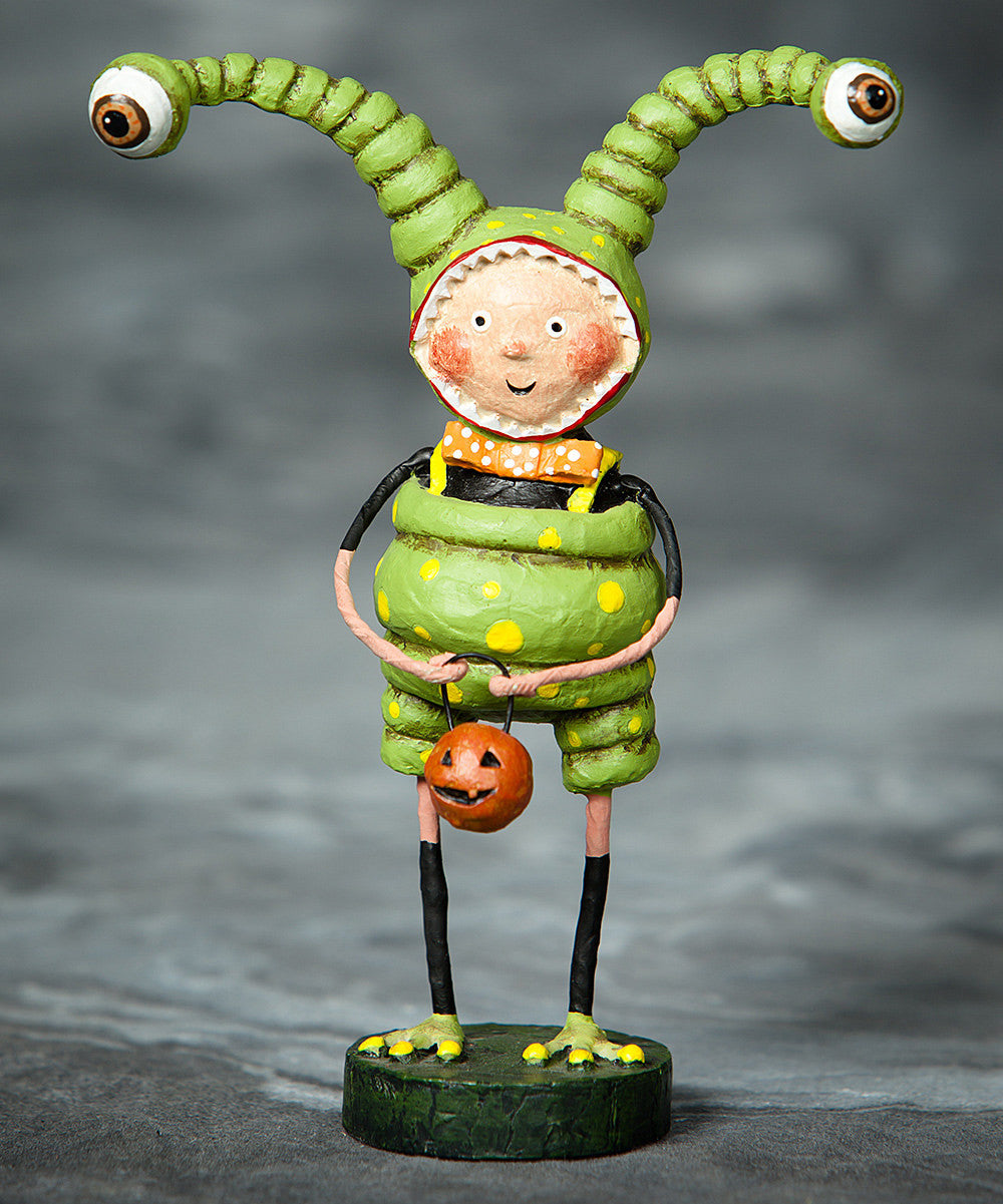 Lori Mitchell Little Alien Halloween Figurine