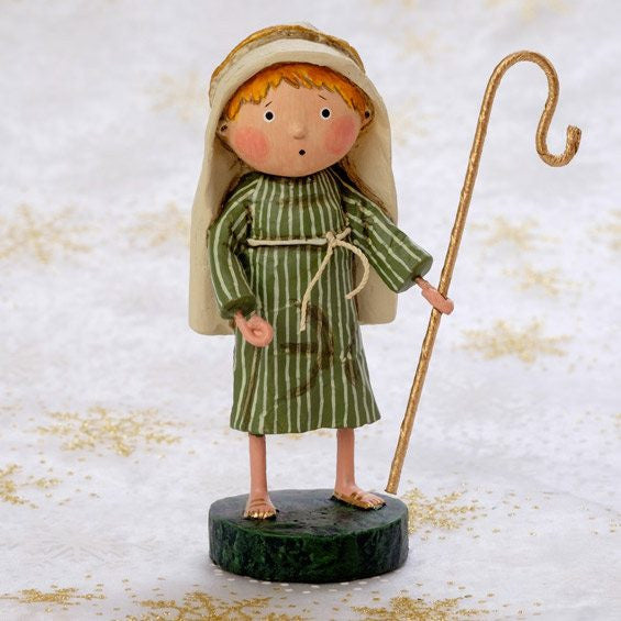 Lori Mitchell Little Shepherd Boy - Christmas Nativity FIgurine