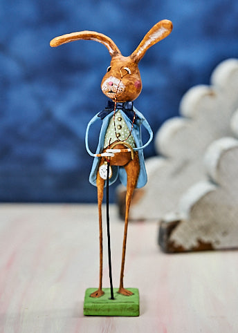 Lori Mitchell Longfellow Rabbit Figurine
