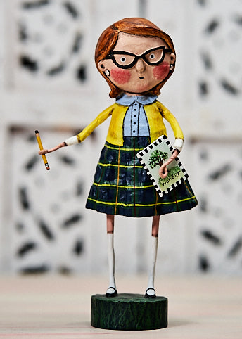 Lori Mitchell Ms. Teachy Teacher Figurine