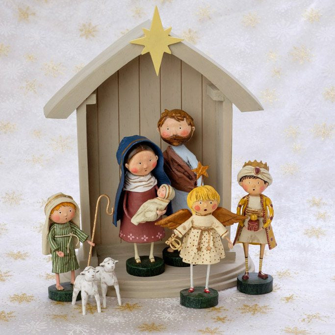 Lori Mitchell Nativity Set