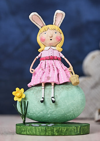Lori Mitchell Robins Egg Figurine
