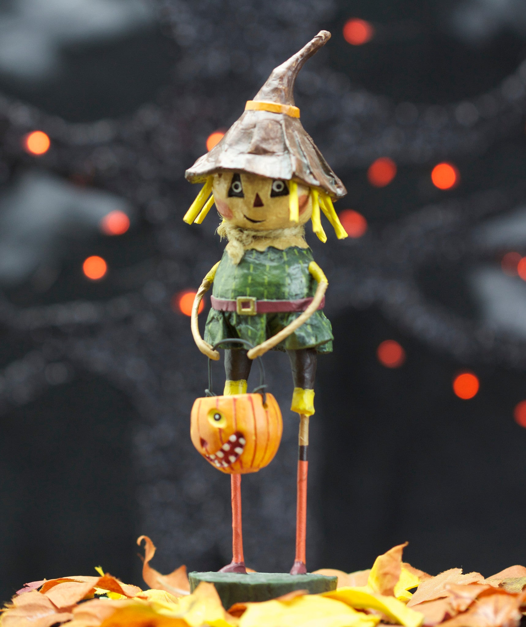 Lori Mitchell Scarecrow Halloween Wizard of Oz Collection Figurine