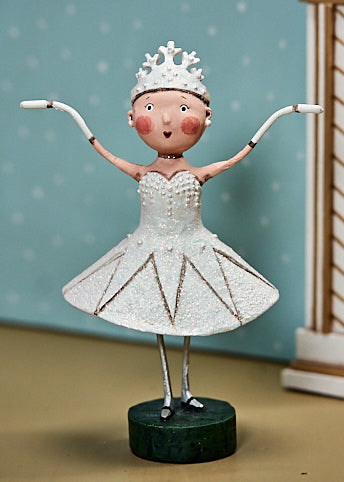 Lori Mitchell Snow Queen Ballerina Figurine