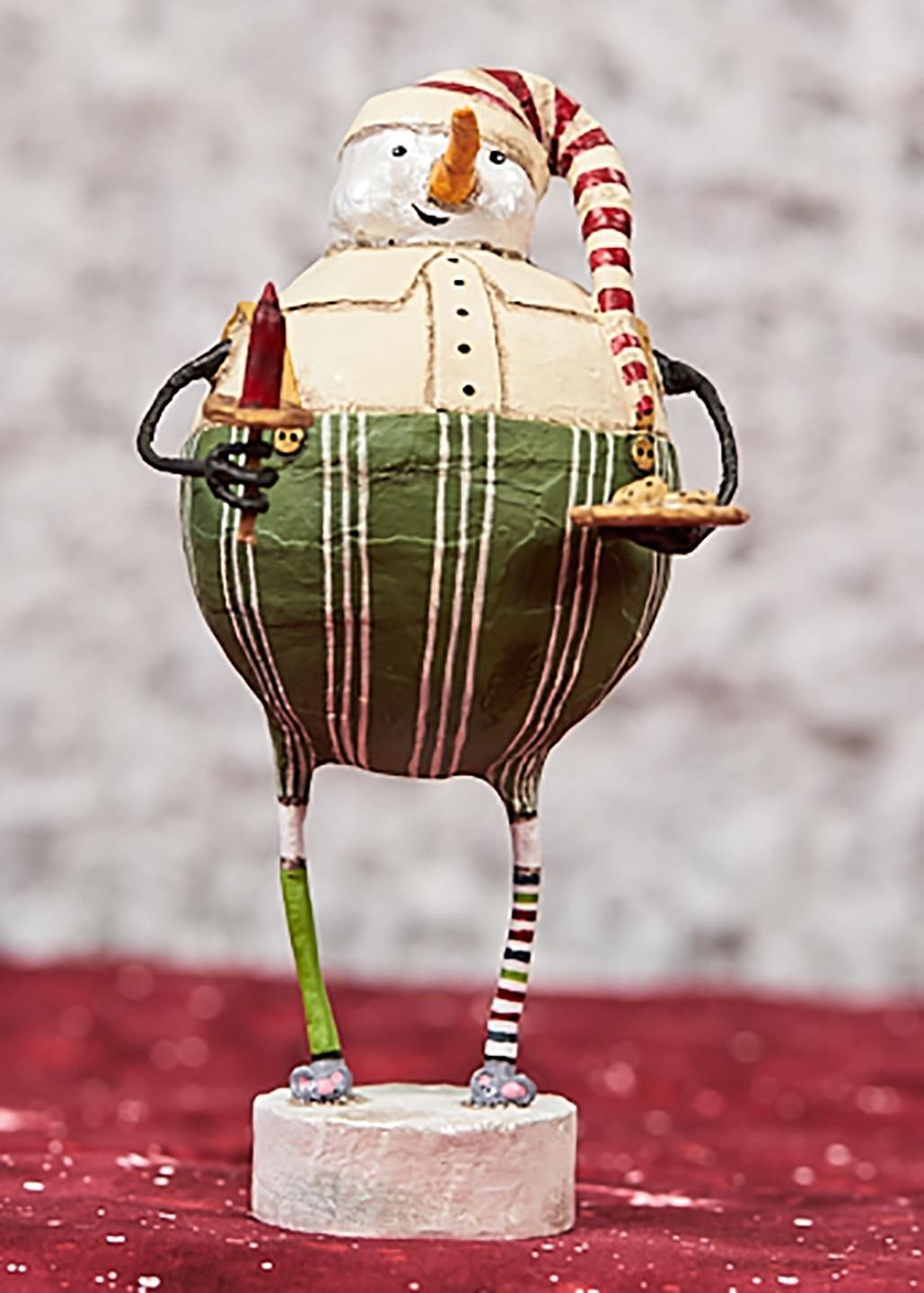 Lori Mitchell Night Before Christmas Snowman Figurine