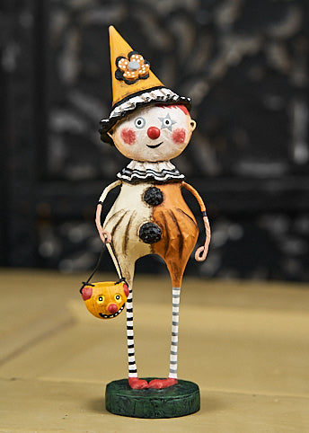 Lori Mitchell Trick or Treat Clown Figurine - Halloween