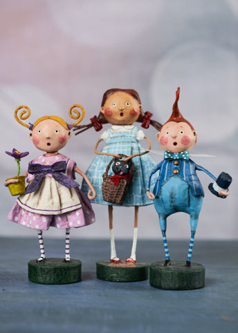 Wizard of Oz Figurines by Lori Mitchell