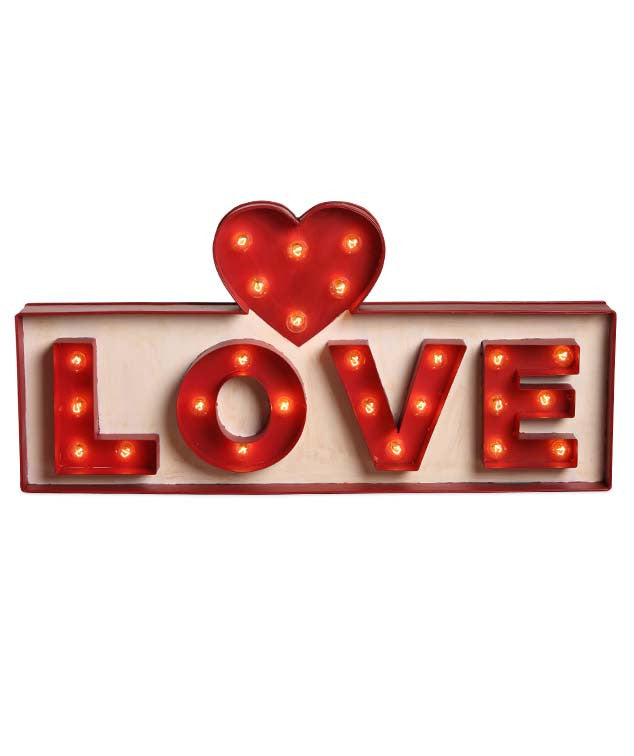 Love Marquee Sign by Bethany Lowe