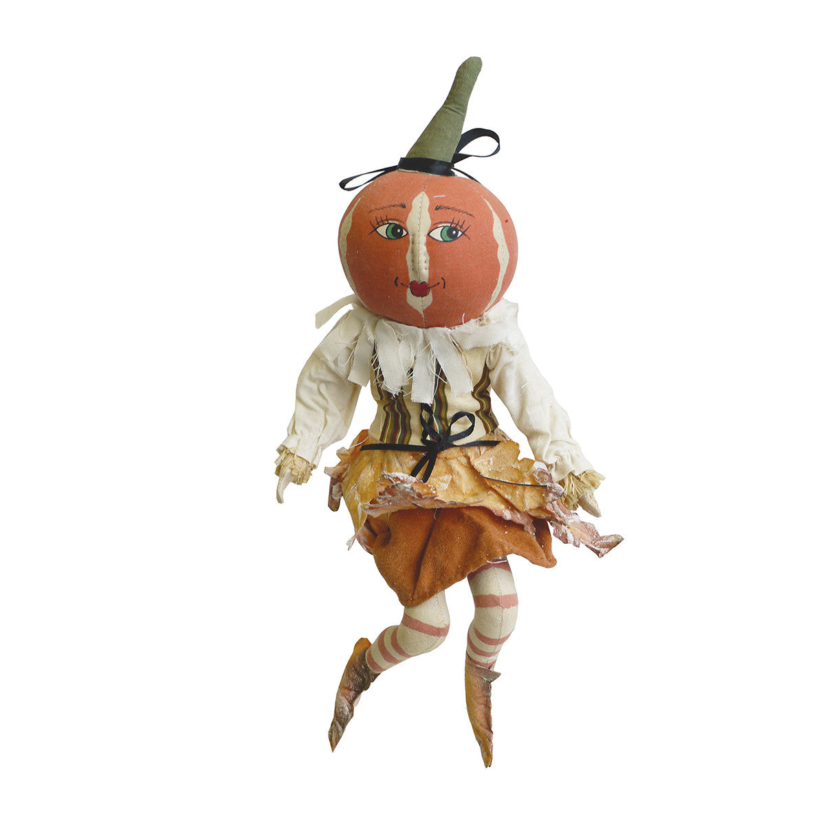 Lulie Leaf Joe Spencer Pumpkin Doll