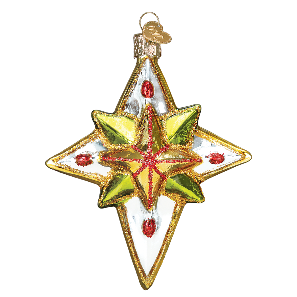 Luminous Star Ornaments by Old World Christmas