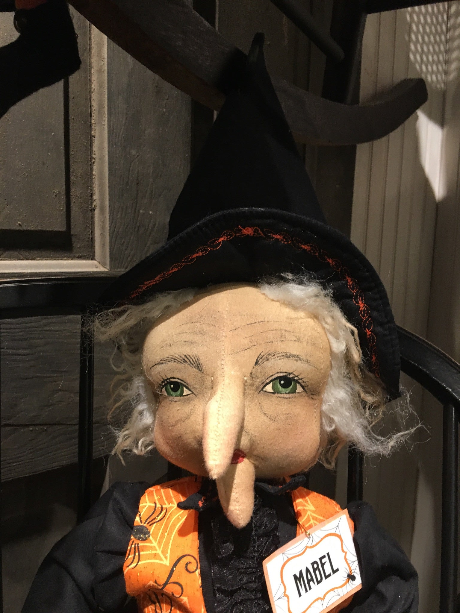 Joe Spencer Mabel Witch Cloth Halloween Doll