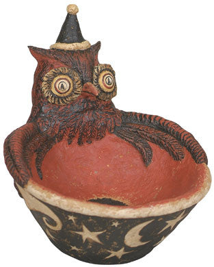 Magical Owl Candy Bowl
