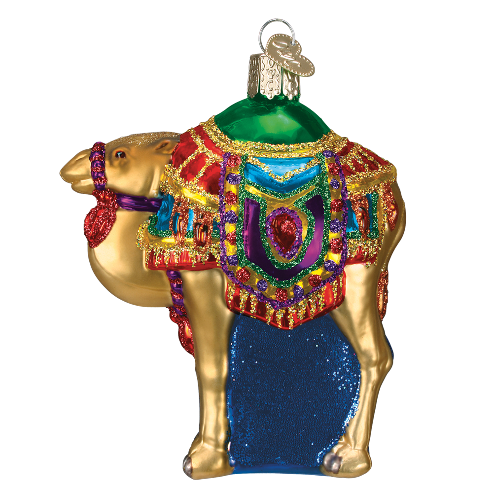Magi's Camel - Glass Ornaments by Old World Christmas