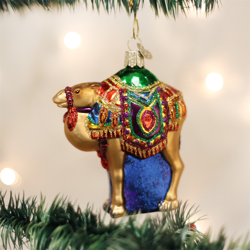 Magi's Camel Ornament - Nativity Ornaments by Old World Christmas