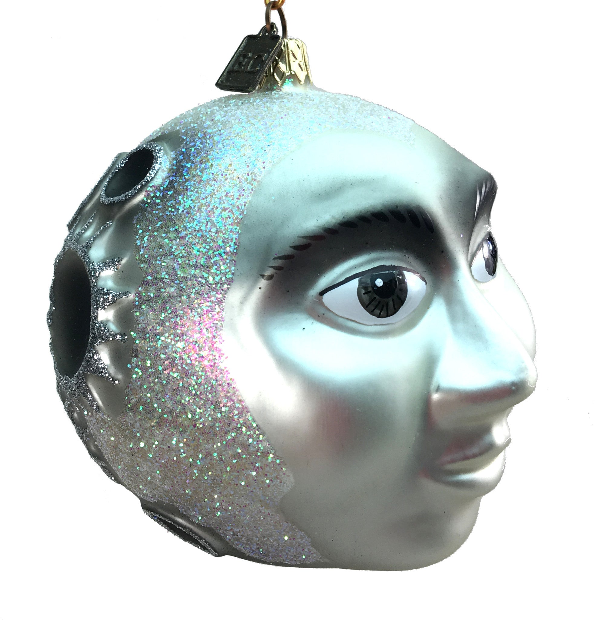 Eric Cortina Man in The Moon Ornament