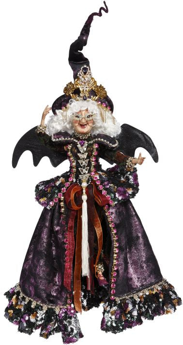 Mark Roberts the Queen of Halloween Witch - Small Purple