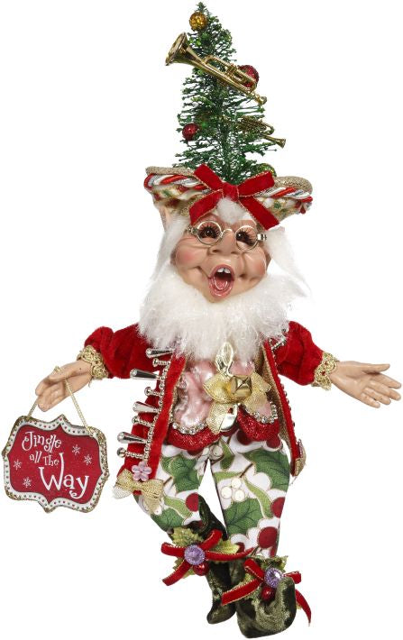 "Mark Roberts Bell Ringer Elf - 13"" Small Christmas Elves"