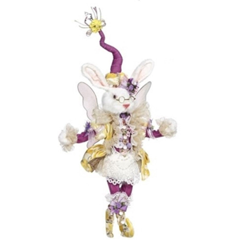 Mark Roberts Fairy Rabbit Girl, Yellow and Purple