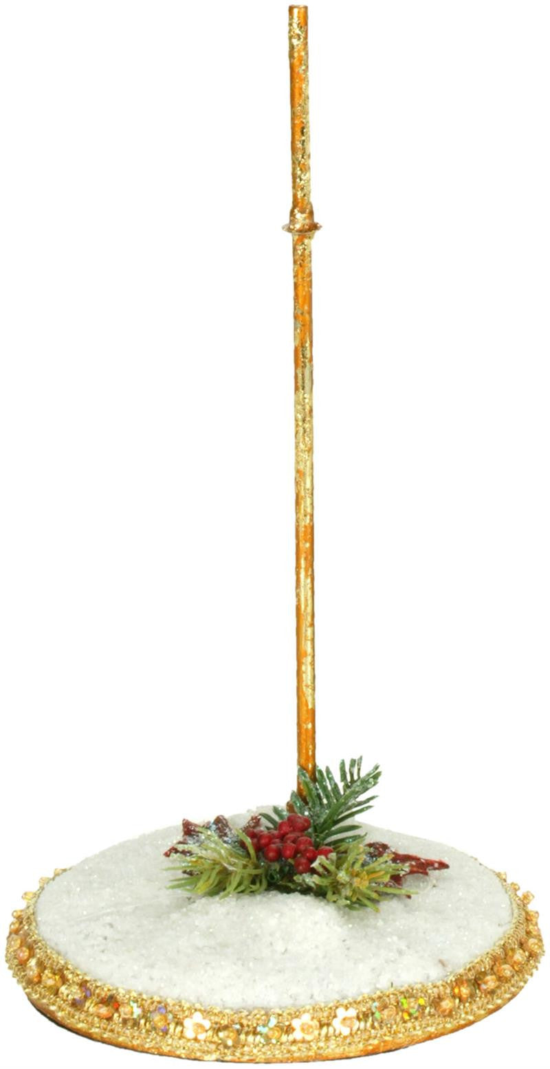 Mark Roberts Snow Base Stand - Small for Elves & Fairies