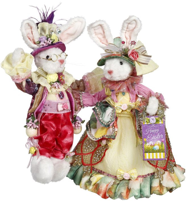 Mark Roberts Mr. & Mrs. Bunny Rabbit