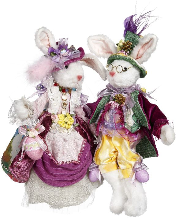 Mark Roberts Mr. & Mrs. Peter Rabbit - Easter Rabbits