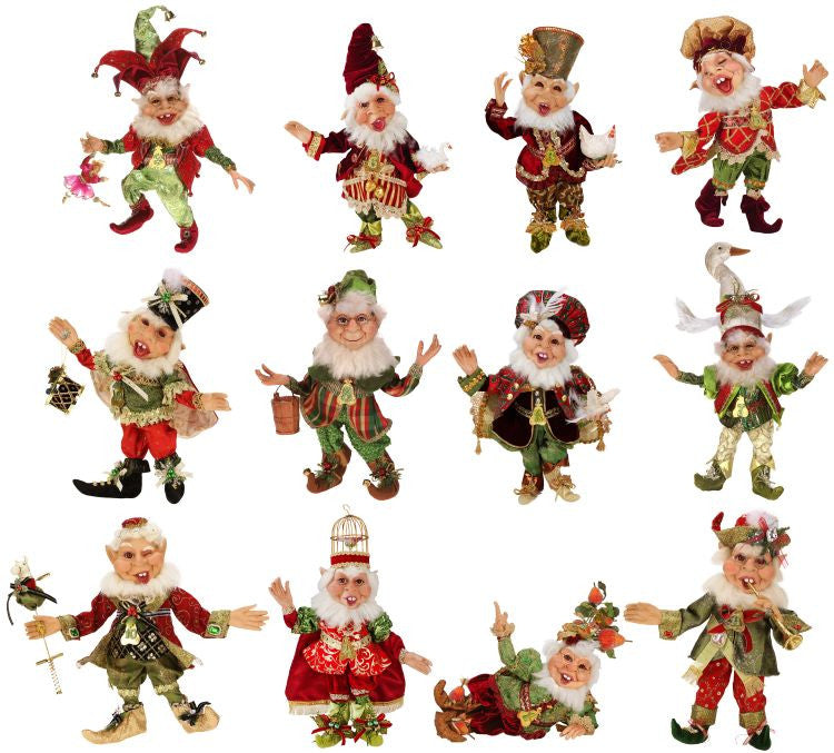 Mark Roberts 12 Days of Christmas Elves