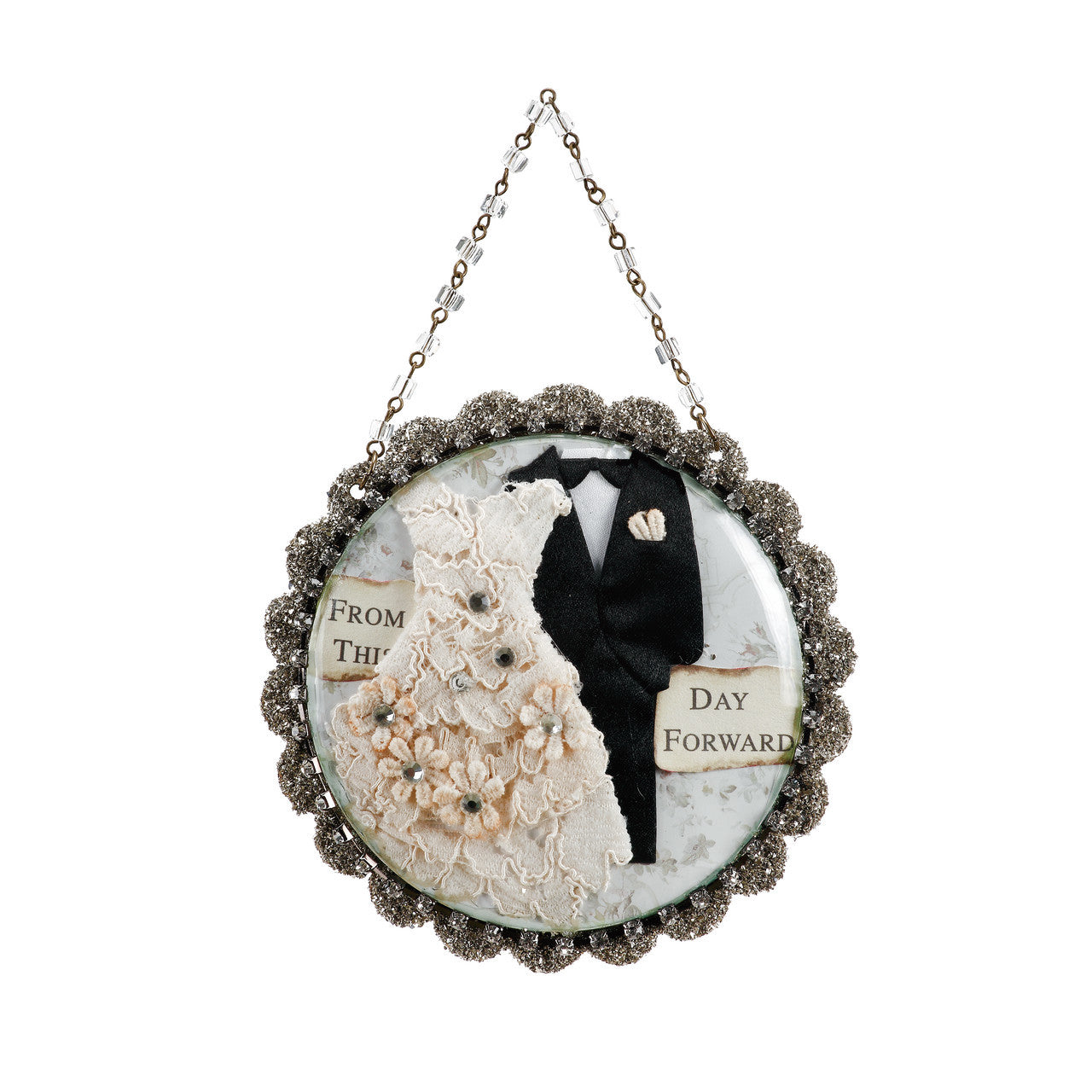 Wedded Bliss - From This Day Forward Wedding Ornament - Gifts for Married Couples