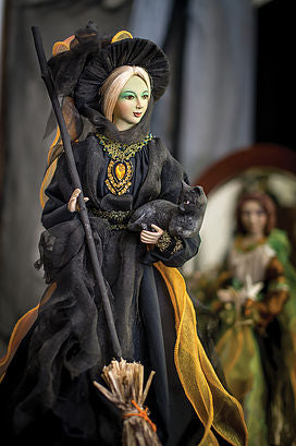Mary Bradbury Salem Witch Doll