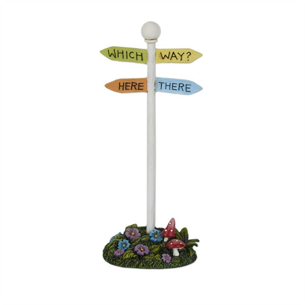 Fairy Garden Which Way Sign - Mary Engelbreit